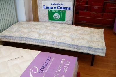 materassi in lana e cotone