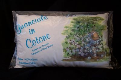 guanciali in cotone