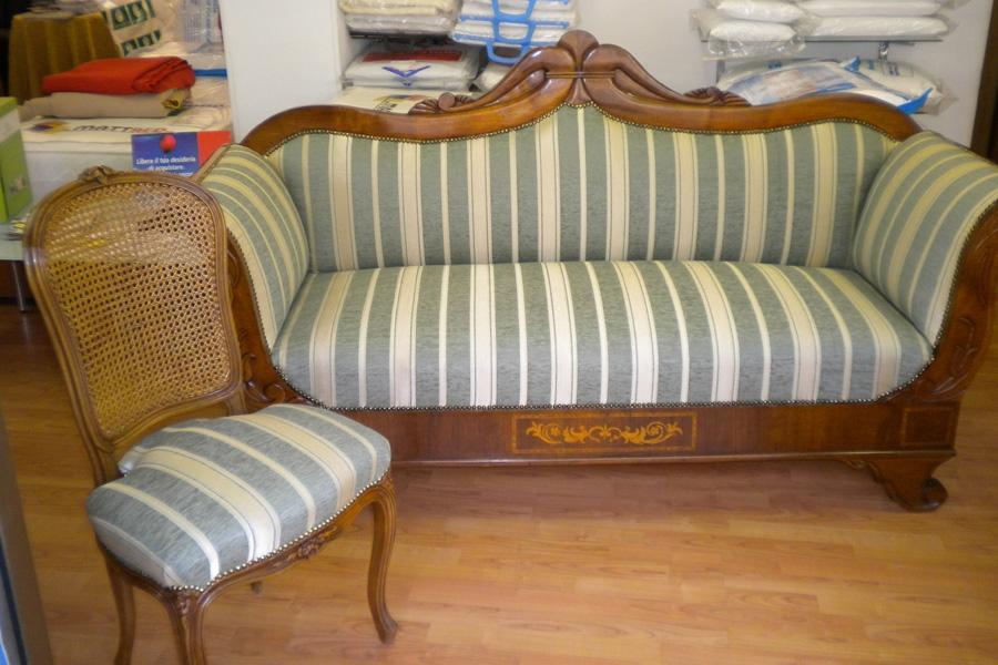 restauro divani antichi